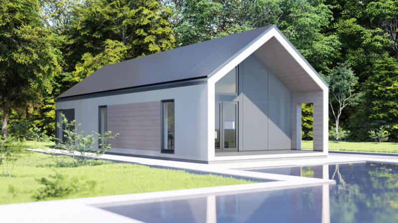 projekt domu alaska